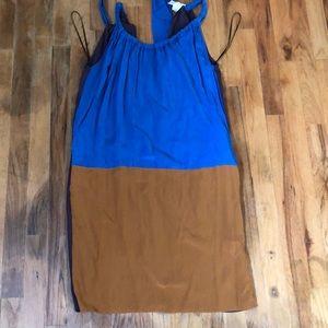 Marni at H&M color block silk dress